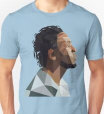 Kendrick Lamar Low Poly Design Unisex T-Shirt