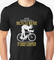 Bicycle Firefighter Unisex T-Shirt