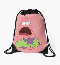 Surprised Patrick Drawstring Bag
