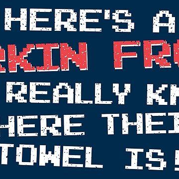 Hitchhikers Guide Zarkin Frood Parody Shirt by hanshotsecond