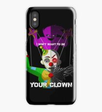"""""""Your Clown"""" Sister Location iPhone Case/Skin"""