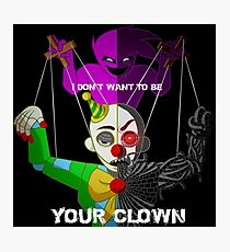"""""""Your Clown"""" Sister Location Photographic Print"""