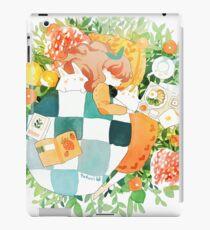 Frühling Schlummer. iPad-Hülle & Klebefolie
