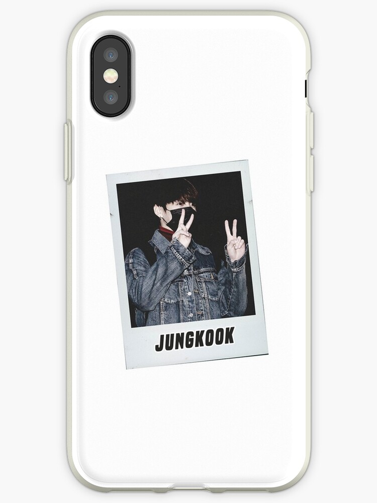official photos c7e9c 686b3 'BTS - JUNGKOOK POLAROID PHONECASE' iPhone Case by jeonism