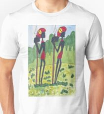 Two African Hunters Unisex T-Shirt