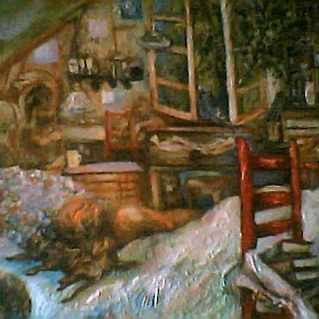 The Studio & Spirits Dream, First Detail by Hawkski