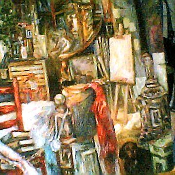 The Studio & Spirits, Second Detail by Hawkski