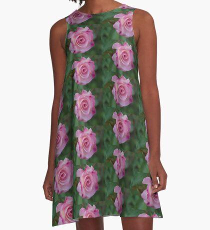 Moist Seduction A-Line Dress
