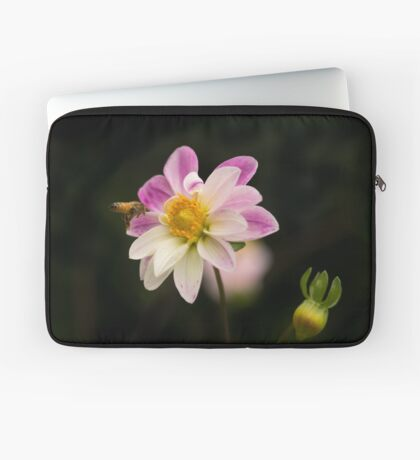 Making a Beeline for the Dahlia Laptop Sleeve