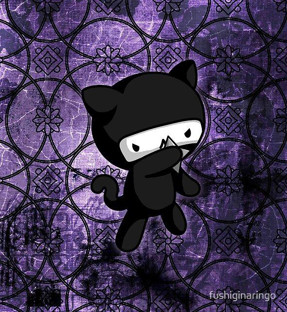 Ninja Kitty by fushiginaringo