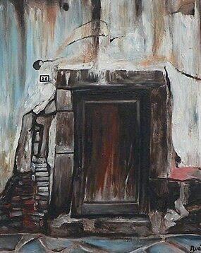 The Brown Door by nuala herron