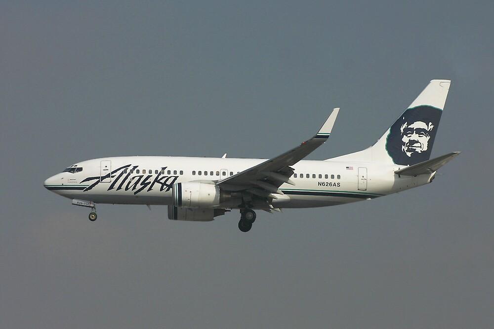 Alaska Airlines 737 by Jeremy Davis