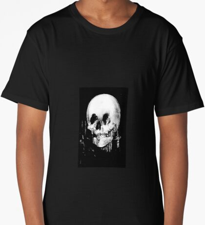All Is Vanity: Halloween Life, Death, and Existence Long T-Shirt
