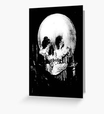 All Is Vanity: Halloween Life, Death, and Existence Greeting Card