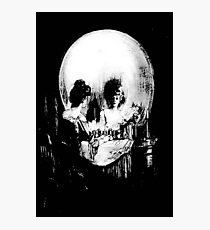 All Is Vanity: Halloween Life, Death, and Existence Photographic Print