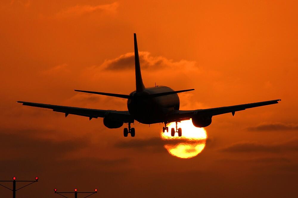 Southwest 737 LAX by Jeremy Davis