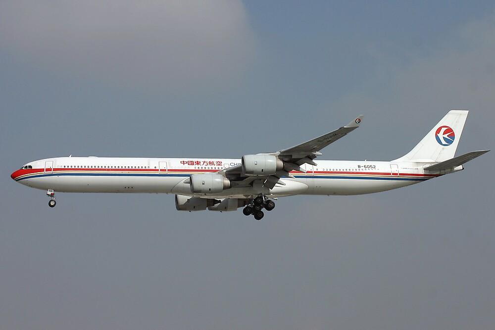 China Eastern A340-600 by Jeremy Davis