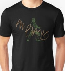 All Blacks Contemporary Design #1 Unisex T-Shirt