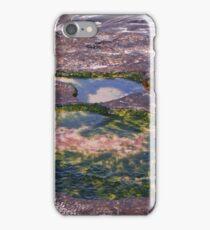 Rock pools at Pippi Beach. iPhone Case/Skin