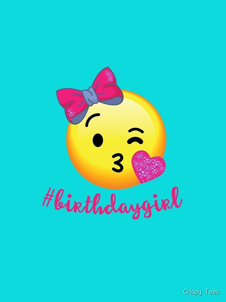 Emoji Geburtstags T Shirt Fur Madchen