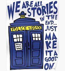 Tardis Stories Poster