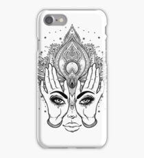 Mysterious Eyes iPhone Case/Skin