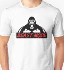 Beast Mode Gym Gorilla Unisex T-Shirt