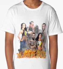 Cm Punk Aj Lee Long T-Shirt