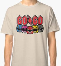 Go Go Rock and Rollin' Mighty Morphin' Classic T-Shirt