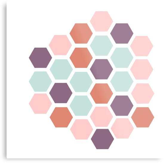 Pastel Honeycomb by CanisPicta