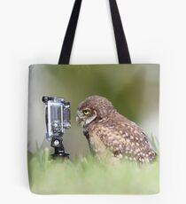 Owl Selfie Tote Bag