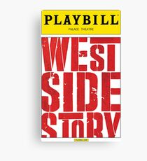 West Side Story Playbill Canvas Print