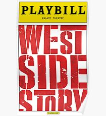 West Side Story Playbill Poster
