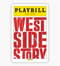 West Side Story Playbill Sticker