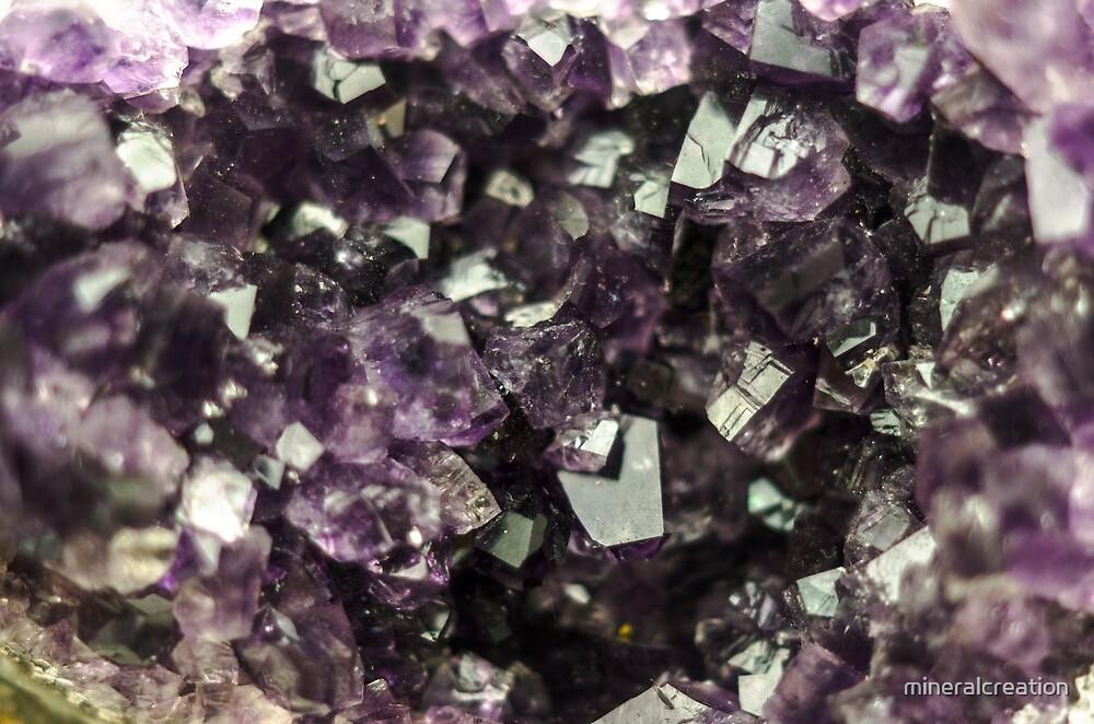 Amethyst Kristalle von mineralcreation