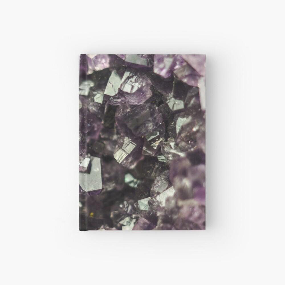Amethyst Kristalle Notizbuch