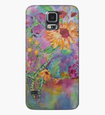 Floral Dream, Acrylic Painting  Case/Skin for Samsung Galaxy