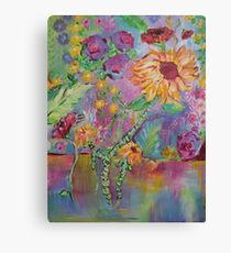 Floral Dream, Acrylic Painting  Canvas Print