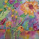 Floral Dream, Acrylic Painting  by Natalie Weinberg