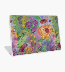 Floral Dream, Acrylic Painting  Laptop Skin