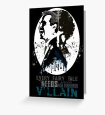 Sherlock Holmes - Old Fashioned Villain Greeting Card