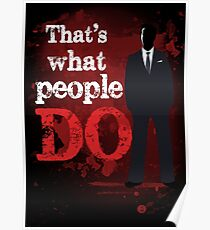 People Have Died Poster