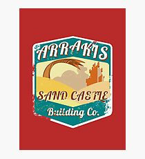 ARRAKIS SAND CASTLE BUILDING COMPANY  Photographic Print