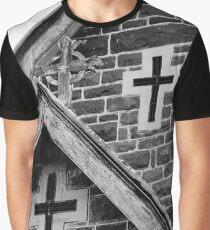 Three Crosses Graphic T-Shirt