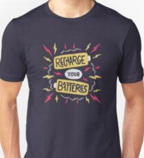 Recharge your batteries Slim Fit T-Shirt