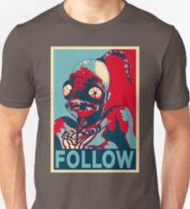 ODDWORLD ABE FOLLOW Unisex T-Shirt