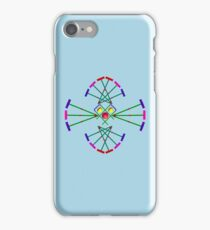 Croquet - Mallets,Balls and Hoops Design iPhone Case/Skin