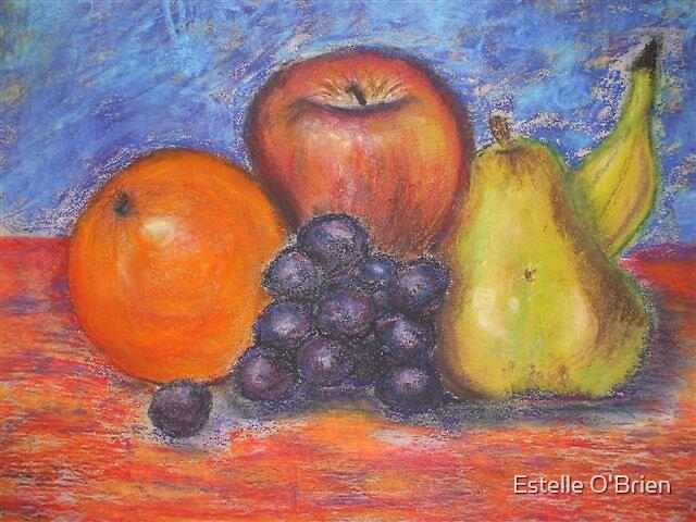 Still Life Fruit by Estelle O'Brien