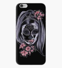 Girl Sugar Skull iPhone Case
