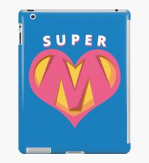 Super Mom Mothers Day iPad Case/Skin